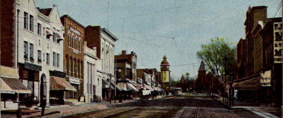 south orange ave. in 1910